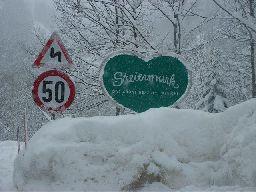 Steiermarkherz verschneit