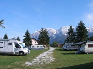Campingplatz mit Grimming